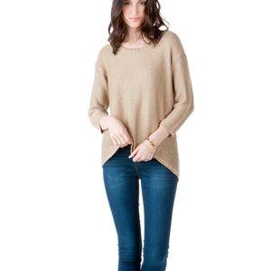 Quinn Crewneck Hi-Lo Sweater